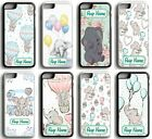 PERSONALISED Disney Dumbo Baby Floral Hard Case Cover for iPhone 5 SE 6 7 8 X XR