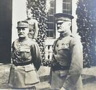 Vintage WWI General Pershing Marchall Foch American Headquarters Chaumont France
