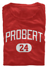 Bob Probert T-Shirt Detroit Red Wings NHL HOF Regular/Soft Jersey #24 (S-3XL) $15.95 USD on eBay