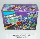 Axer Action Master MIB 100% Complete 1990 Vintage Hasbro G1 Transformers For Sale