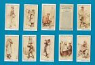 Cigarette cards set London Characters 1934, Cabby, Newsboy ,Rag and Bone Man,