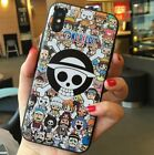 Cartoon One Piece Case Cover for iPhone 6 7 8 X  XS Plus C0233