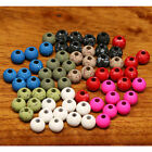 Hareline Mottled Tactical Slotted Tungsten Beads