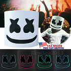 Kyпить DJ-MarshMello LED Mask Full Head Helmet Halloween Easter Cosplay Bar Music Prop на еВаy.соm