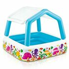 "Sun Shade Inflatable Pool, 62"" X 62"" X 48"", for Ages 2+"