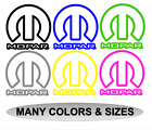 MOPAR LOGO Vinyl Outline Decal Car Window Bumper Sticker Jeep Ram Dodge SIZES $4.45 USD on eBay