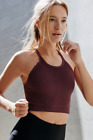 New Free People Fp Movement Active Ribbed Cami Happiness Runs Crop Tank Top $30