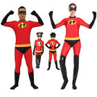 The Incredibles Costume Family Matching Elastigirl Violet Parr Cosplay Bodysuit