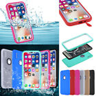 Waterproof Shockproof Cover Fr i Phone XS MAX XR X 8 Plus Hybrid Rubber TPU Case
