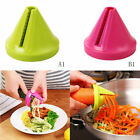 For Kitchen Gadget Vegetable Flower Potato Carrot Cutter Spiral Slicer Spi DSJ