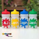 ANY NAME KIDS WATER / DRINK BOTTLE - NO LEAKS - DEMAND LID / HANDS FREE - 300ML