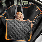 Lantoo Dog Seat Cover, Large Back Seat Pet Seat Cover Hammock for Cars, Truck...