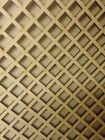 Radiator Cabinet Decorative Screening Perforated 3mm & 6mm thick MDF laser 25mm