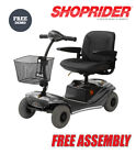 Shoprider Paris 4mph Portable Folding Travel Car Boot Mobility Scooter