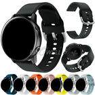 Universal 20mm Quick Release Sports Silicone Watch Band Replacement Strap Belt  image