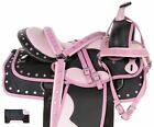 Light Weight Western Horse Saddle Trail Barrel Show Horse Tack 15 16 17 18 in