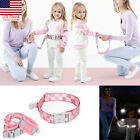 Safety Harness Leash Anti Lost Wrist Link Reflective Traction Rope For Baby Kids