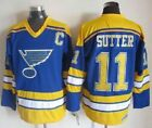 NWT Brian Sutter St Louis Blues VTG NHL Jersey Vintage Throwback M L XL XXL 3XL $48.47 USD on eBay