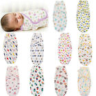 Newborn Infant Baby Toddler Swaddle Wrap Blanket Sleeping Bag Sleep Sack Bedding