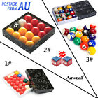 "Billiard Pool Ball set 2-1/16"" Snooker 22 ball,2"" Red and Yellow/Fancy 16 Ball $28.95 AUD on eBay"
