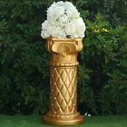 "WEDDING COLUMNS 25"" Gold with Crystal Beads Wedding Party Decorations WHOLESALE"