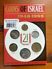 COINS OF ISRAEL 1948-69 21st ANNIVERSARY*STATE OF ISRAEL SEALED*Free Ship!
