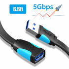 USB 3.0 Super High Speed 5Gbps Male A to Female A Data Sync Extension Cable Cord