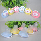 QA_ BL_ Kids Baby Cute Soother Nipples Translucent Silicone Baby Dummy Pacifie