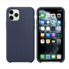 For APPLE Genuine SILICONE Case iPhone X XR XS MAX 8 7 Liquid Rubber Cover