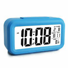 Large Digital Electronic LCD Time Date Temp Display Backlight Clock Snooze Alarm