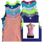 Lot Of 2 3 4 5 Or 6 Women Tank Tops 100% Cotton Casual Basic Workout
