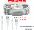 1/2M Apple MFI Lightning USB Charging Data Sync Cable Fr iPhone 6S 7 8 Plus X XR