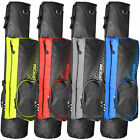 "LONGRIDGE 5"" LIGHTWEIGHT DUAL STRAP GOLF PENCIL BAG ALL COLOURS"