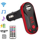 Wireless Car FM Transmitter Hands-free LCD MP3 Player Radio Adapter Kit Charger