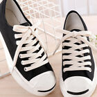 1 Pair Available Double Layer Length Shoes Laces Cotton Canvas Fashion Shoelaces