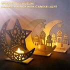 6D48 with Candle Light Eid Mubarak Decoration Islam Mosque Delicate