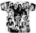 Black Women Magic Collage T-Shirts.... Adult and Youth Sizes . Black Legend Tees image