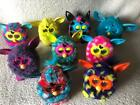 MASSIVE Furby NINE 9 Lot Mixed Styles Colors Old New! TESTED VG+ Condition