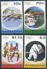 Barbados 2004. The Games of the XXVIII Olympiad (MNH OG) Set of 4 stamps