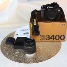 Nikon D3400 24.2 MP Camera, choose body only or with 18-55mm lens