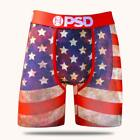 PSD America 19 USA Flag 4th of July Patriotic Boxer Briefs Underwear E11911060