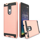 For Coolpad Legacy go/Alchemy/Illumina Shockproof Slim Armor Case+Tempered Glass