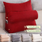 Adjustable Back Wedge Cushion Sofa Pillow Bed Office Chair Rest Neck Support  image