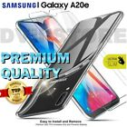 CASE for SAMSUNG Galaxy A20e TPU Cover, Tempered GLASS Protection Film