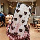 Girl Cute Love Heart Soft Silicone Case iPhone 11 Pro Max 6 7 8+ XR XS MAX Cover