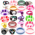 Mixed Wholesale Kids Childrens Rings Boys Girls Jewellery Toys Choose Quantity