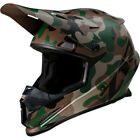 Z1R Rise Camouflage MX Offroad Helmet Woodland