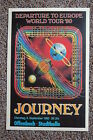 Jorney Concert Tour Poster 1980 Europe World tour