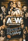 AEW All Elite Wrestling Double or Nothing Event Poster Young Bucks - 11x17 13x19