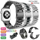 For Apple Watch Series 5 4 3 2 Bracelet Strap Stainless Steel Metal Band 38 42mm image